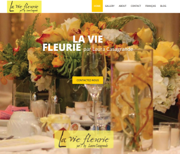 Website for florist